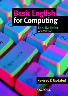 Basic English for Computing: Student's Book by Eric Glendinning image