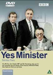Yes Minister - Series 2 on DVD