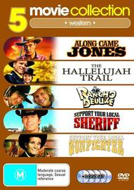 Along Came Jones/Hallelujah Trail/Rancho Deluxe/Support Your Local Sheriff/Support Your Local Gunfighter (5 Disc Set) on DVD image