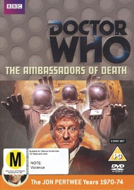 Doctor Who: The Ambassadors of Death on DVD