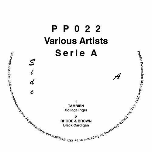 Serie A compilation by Tambien / Obalski / Mr. Tophat / Rhode & Brown image