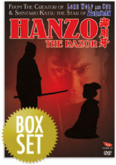 Hanzo The Razor - Collection (3 Disc Set) on DVD