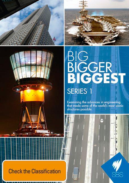 Big, Bigger, Biggest - Series 1 on DVD