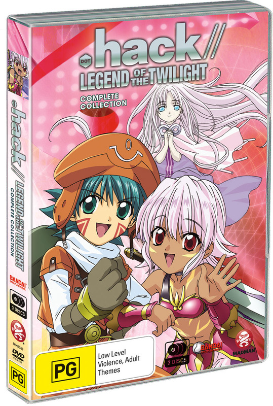 .Hack// Legend Of The Twilight Collection (3 Disc Slimpack) on DVD