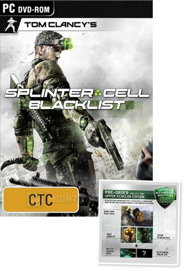 Tom Clancy's Splinter Cell Blacklist Upper Echelon Edition for PC