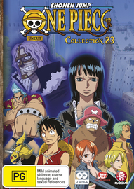 One Piece: Uncut - Collection 23 (Eps 276-287) on DVD