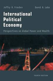 International Political Economy by Jeffry A Frieden image