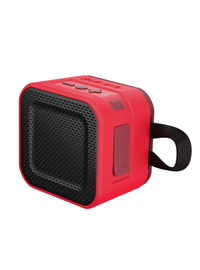 Skullcandy Barricade Mini Bluetooth Speaker - Red/Dark Red/Tan