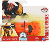 Transformers Robots in Disguise 1-Step Changers - Autobot Drift