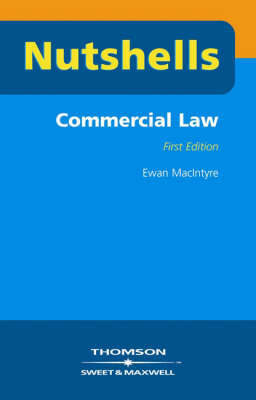 Commercial Law by Ewan MacIntyre image