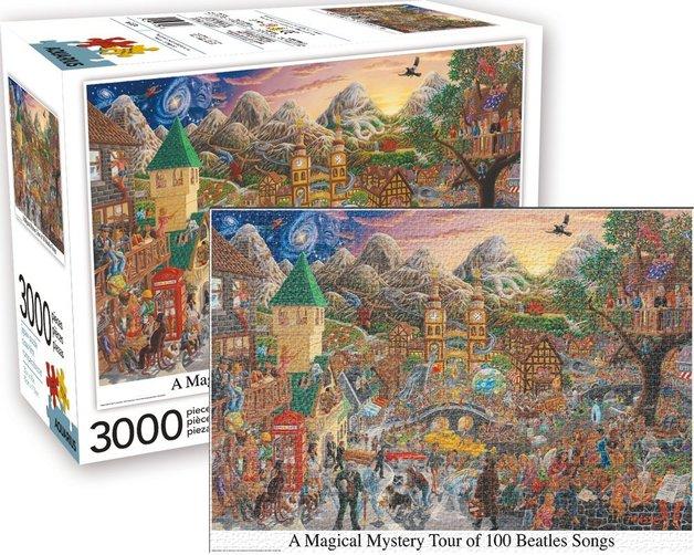 Beatles: Magical Mystery Tour - 3000-Piece Puzzle