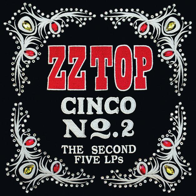 Cinco No. 2: the Second Five LPs (5LP) by ZZ Top
