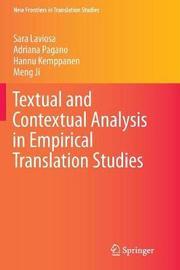 Textual and Contextual Analysis in Empirical Translation Studies by Sara Laviosa