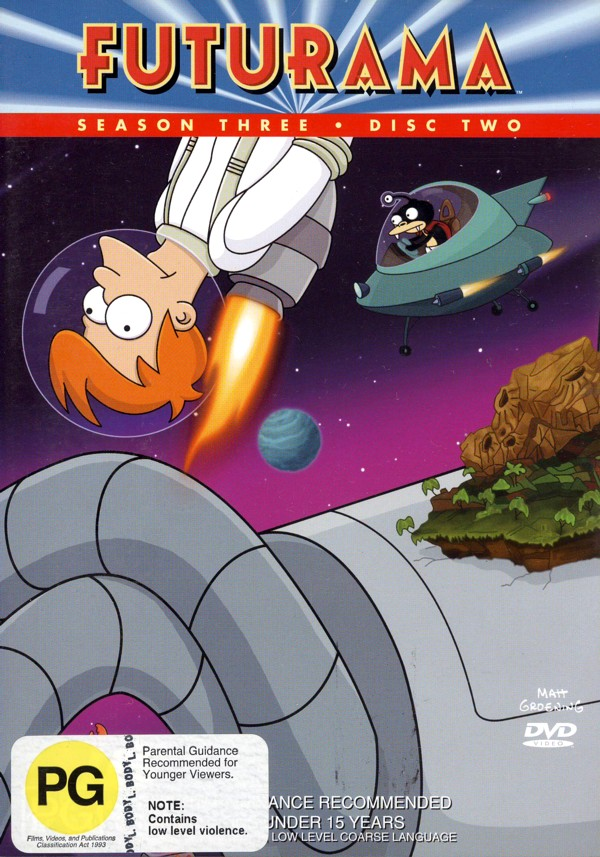 Futurama - Season 3 Disc 2 on DVD image