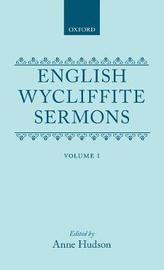 English Wycliffite Sermons: Volume I image