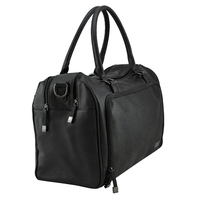 Isoki: Nappy Bag Double Zip Satchel - Onyx image