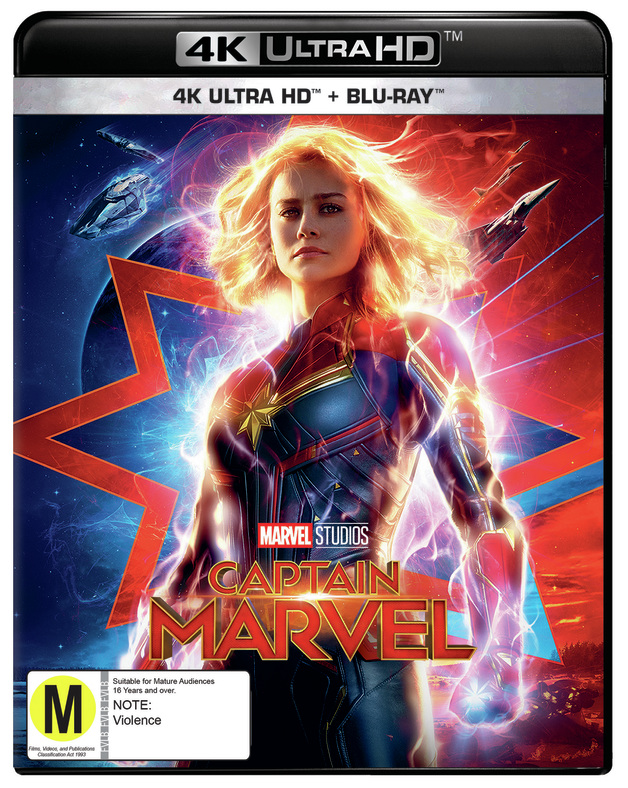 Captain Marvel on UHD Blu-ray