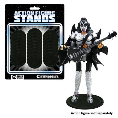 Action Figure Stands - Black (25-Pack)