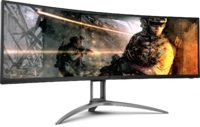 "49"" AOC 5120x1440 120Hz 1ms Curved UltraWide FreeSync HDR Gaming Monitor"