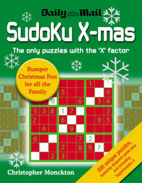 Sudoku X-mas by Christopher Monckton