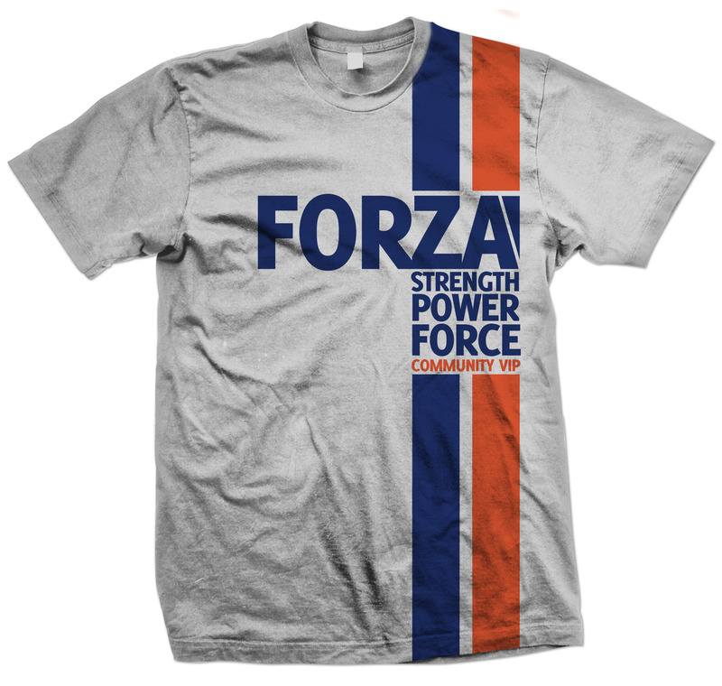 Forza Motorsport 4 Strength, Power, Force T-Shirt (XL) image