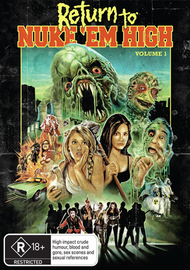 Return to Nuke'Em High - Volume 1 on DVD