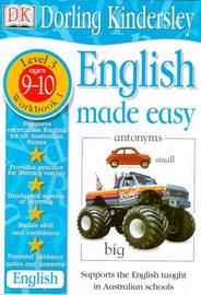 English Made Easy Level 3 (Age 9-10): Workbook 1 by Dorling Kindersley