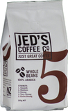 Jed's Coffee Co: 5 Whole Bean Coffee (200g)