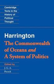 Cambridge Texts in the History of Political Thought by James Harrington