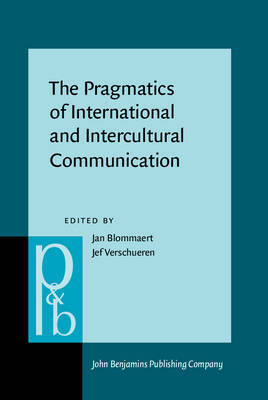 The Pragmatics of Intercultural and International Communication image