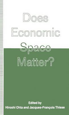 Does Economic Space Matter? by Arthur J. Wolak image