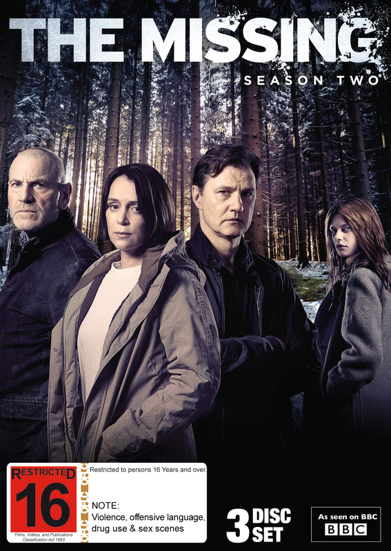 The Missing - Series 2 on DVD