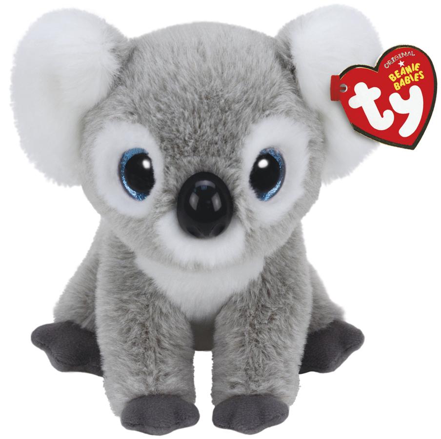 Ty Beanie Babies: Kookoo Koala Grey - Small Plush image