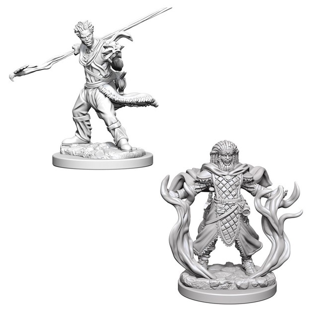 D&D Nolzur's Marvelous: Unpainted Minis - Human Male Druid