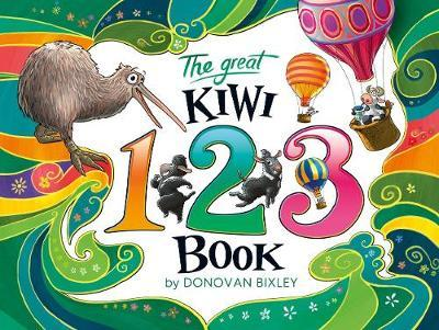 The Great Kiwi 123 Book by Donovan Bixley