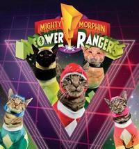 Meower Rangers by Max Bisantz
