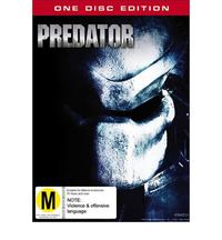 Predator on DVD image