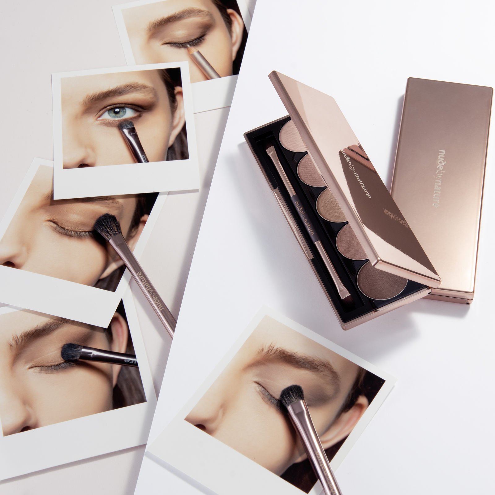 Nude by Nature Natural Illusion Eye Pallet - 01 Classic Nude image