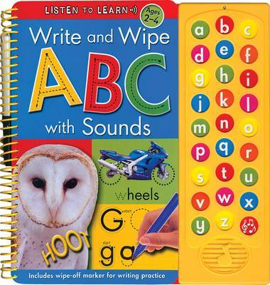 Write and Wipe ABC with Sounds image