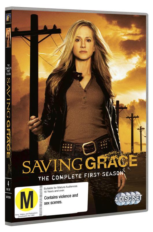 Saving Grace - Season 1 on DVD