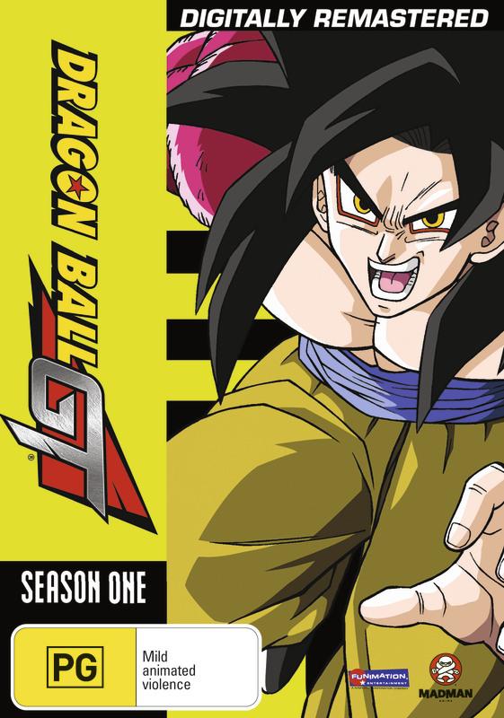 Dragon Ball GT Remastered Uncut Season 1 (5 Disc Set) on DVD