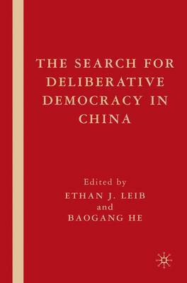 The Search for Deliberative Democracy in China image