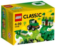 LEGO Classic: Green Creativity Box (10708)