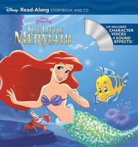 The Little Mermaid Read-Along Storybook and CD by Disney Book Group