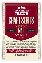 Mangrove Jack's Craft Series Yeast M41 Belgian Ale (10g)