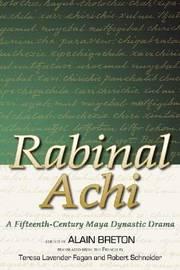 Rabinal Achi by Alain Breton image