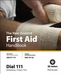 The New Zealand First Aid Handbook 2009 image