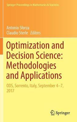 Optimization and Decision Science: Methodologies and Applications image