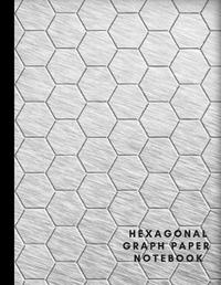Hexagonal Graph Paper Notebook by A Journal