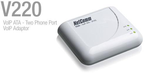 Netcomm V210P VoIP ATA - Single Phone Port With PSTN Pass-through image
